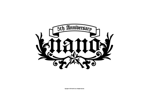 5th Anniversary記念 WALLPAPER -White-