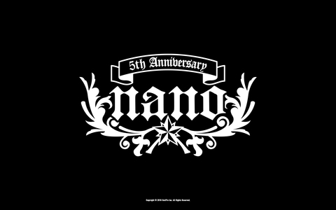 5th Anniversary記念 WALLPAPER -Black-