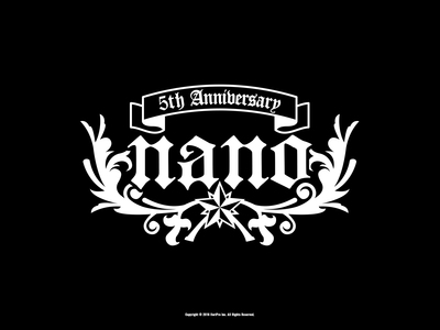 5th Anniversary記念 WALLPAPER -Black-