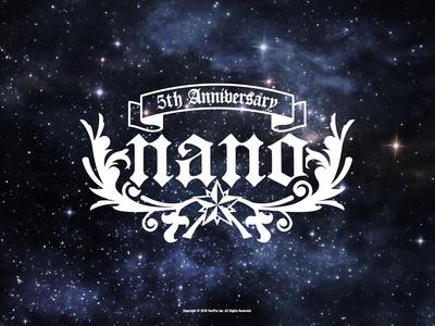 [ナノ友プレミアム限定]5th Anniversary記念 WALLPAPER -Premium-